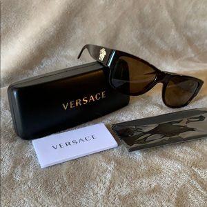 Versace Polarized Sunglasses Mod 4275 Polar Brown